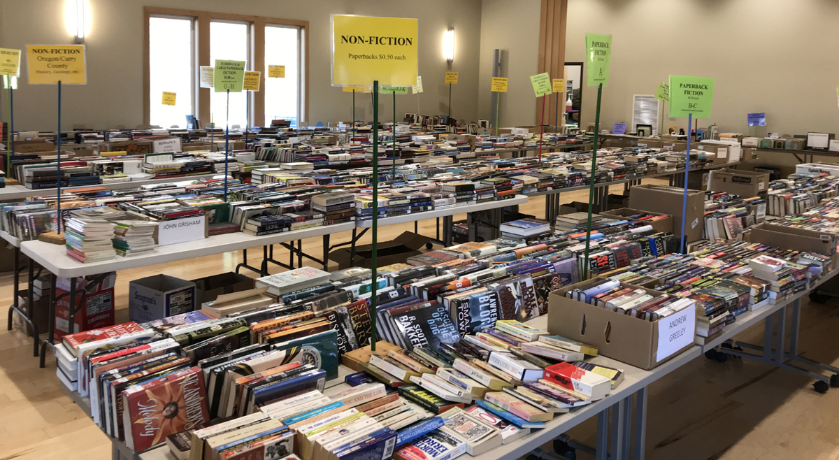 Book Sale in the Meeting Hall