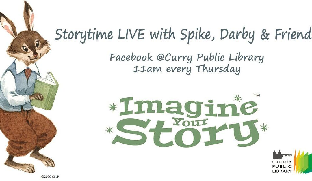 Storytime LIVE Online with Spike, Darby, & Friends