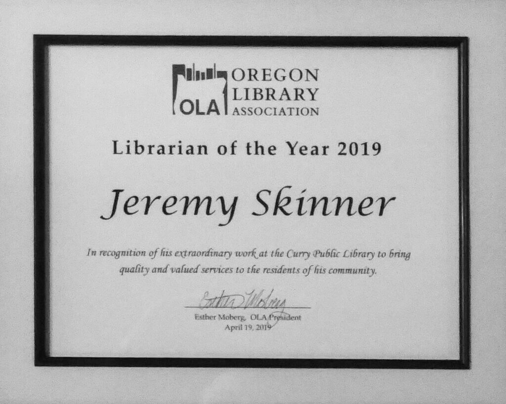 Librarian of the Year 2019