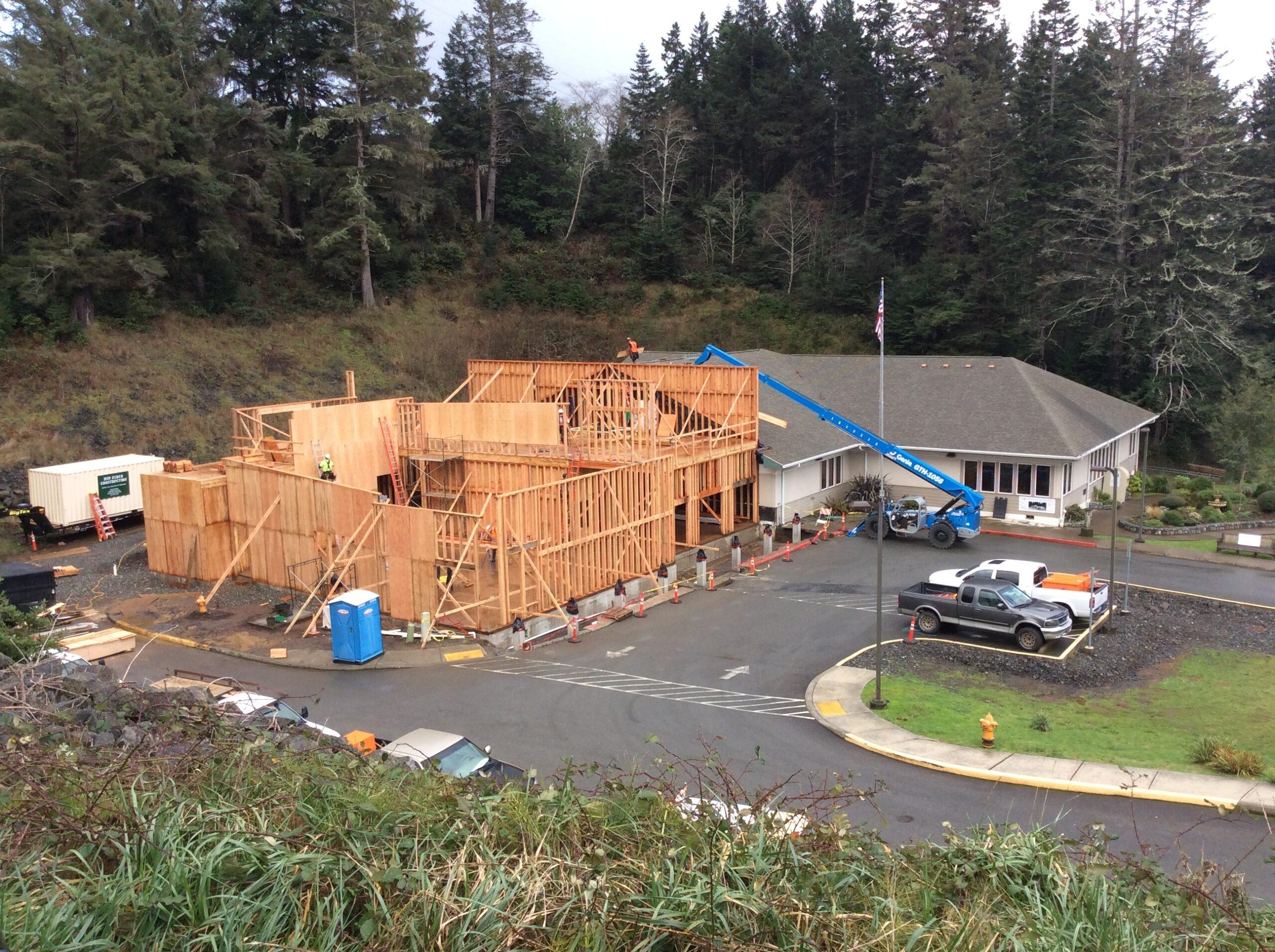 Building construction, 2018