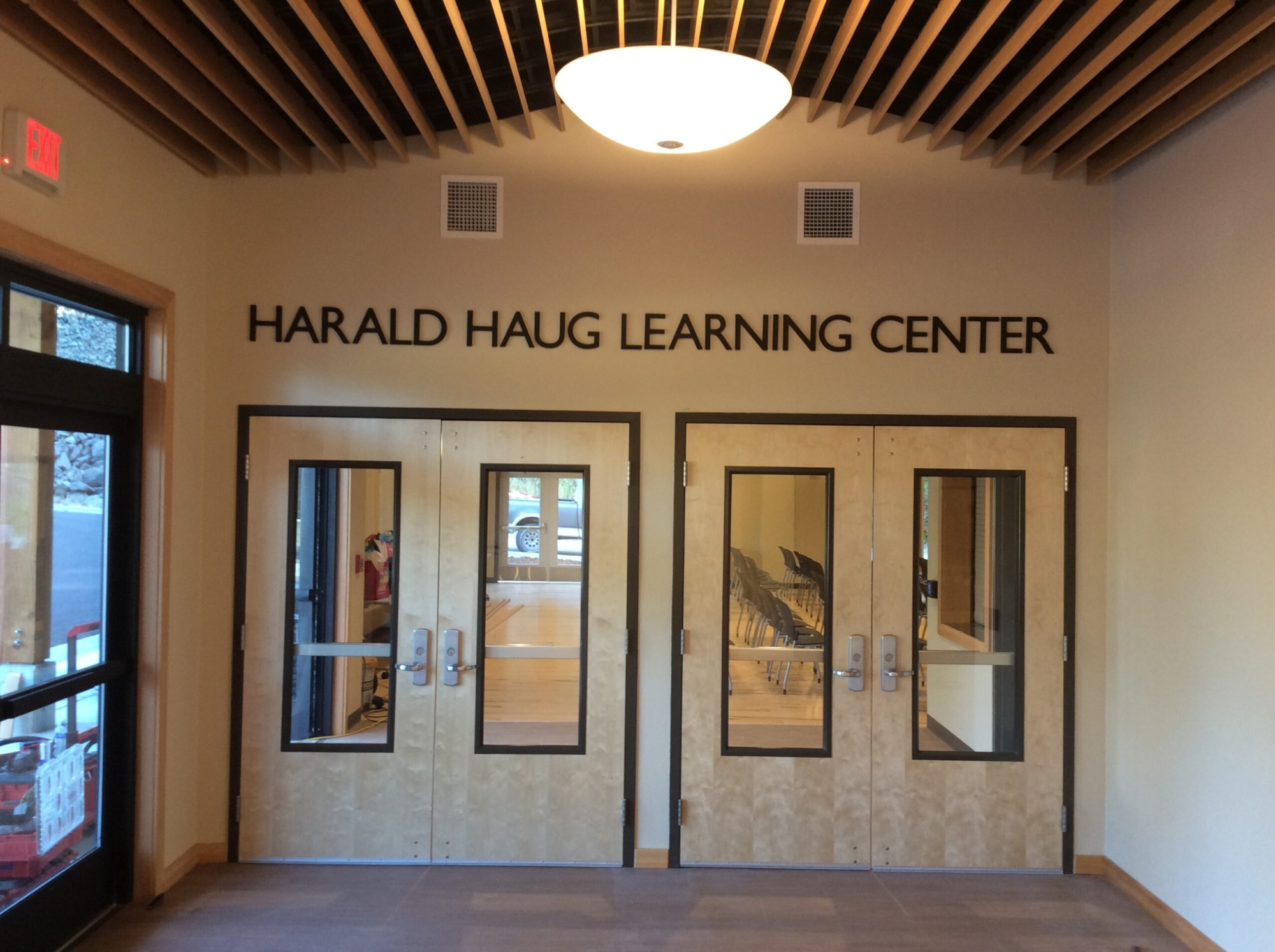 Meeting Hall Entrance