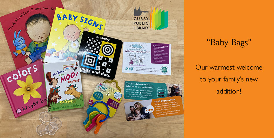 Baby Bags program at Curry Public Library