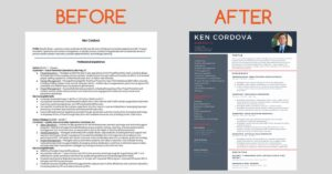 Making a Simple Resume Pop