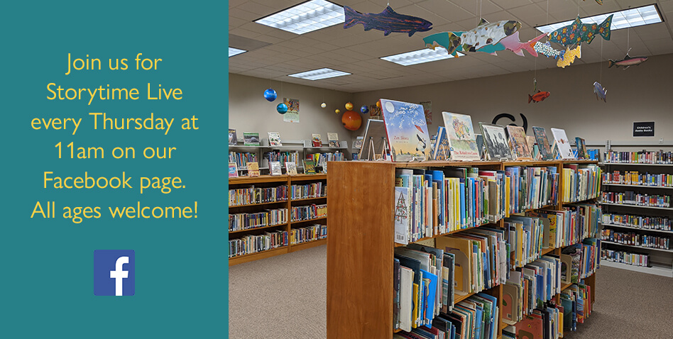 Storytime at Curry Public Library